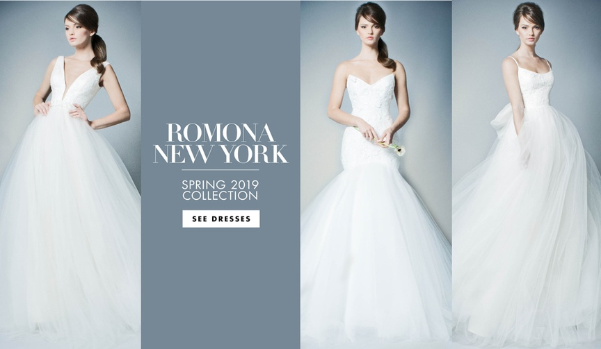 Bridal Fashion Week: Romona New York Spring 2019