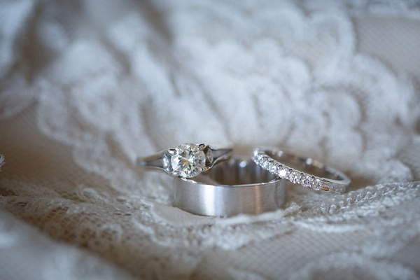 wedding rings on lace dress round diamond with side stones diamond wedding ring platinum men's ring