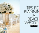Learn the ins and outs of hosting a beach wedding.