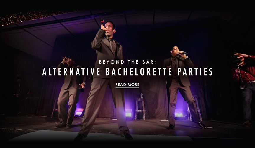 alternative bachelorette party ideas concerts
