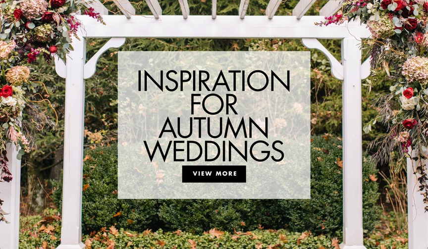 inspiration for autumn weddings fall wedding ideas for your ceremony and reception