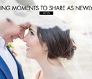 when to spend time with your new spouse on the wedding day
