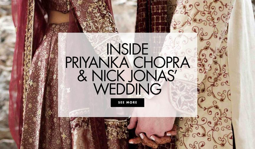 nick jonas and priyanka chopra wedding celebration =, mehendi & sangeet