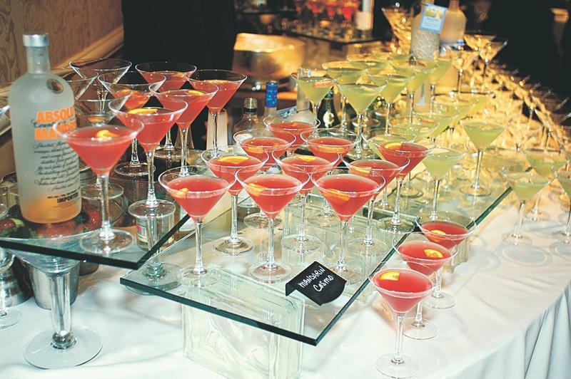 Food Drink Photos Cocktail Table Inside Weddings
