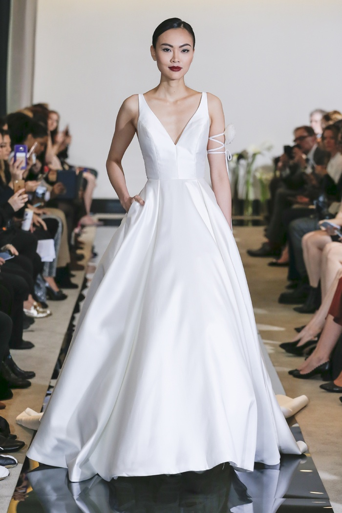 Wedding Dresses Photos - Box Pleat Ball Gown by Justin Alexander ...