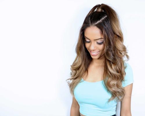 Superb Wedding Hair Ariana Grande Inspired Half Up Ponytail Hairstyle Short Hairstyles Gunalazisus
