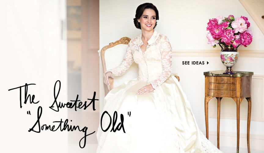 What to wear for your wedding something old tradition