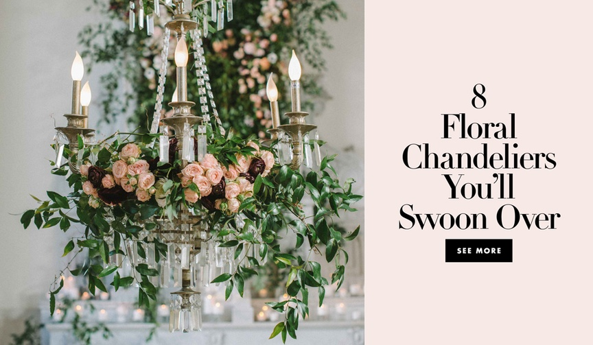 floral chandeliers for your wedding reception ceremony fixtures hanging flowers lights marriage