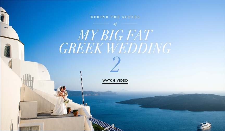 Go behind the scenes of My Big Fat Greek Wedding sequel