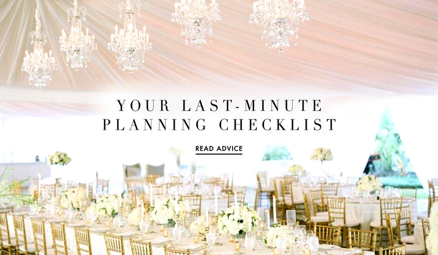 Wedding planning checklist and tips from Kelli Corn Weddings & Events
