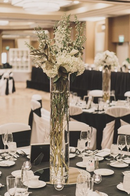 Tall Flower Arrangements - Wedding Centerpiece Designs - Inside Weddings