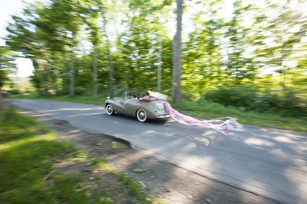 Wedding Rolls Royce Hudson Valley wedding