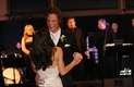 Supernatural actors dancing at wedding reception
