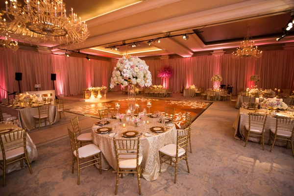 Elegant Interfaith Wedding With A Quotsecret Gardenquot Theme In