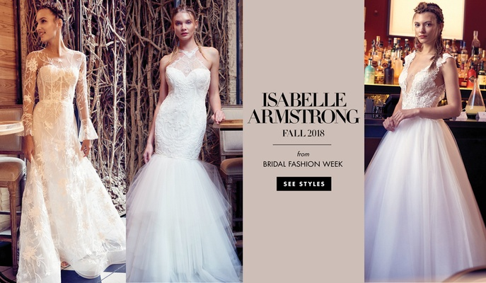 Isabelle Armstrong fall 2018 wedding dresses bridal gowns New York Bridal Market bridal fashion week