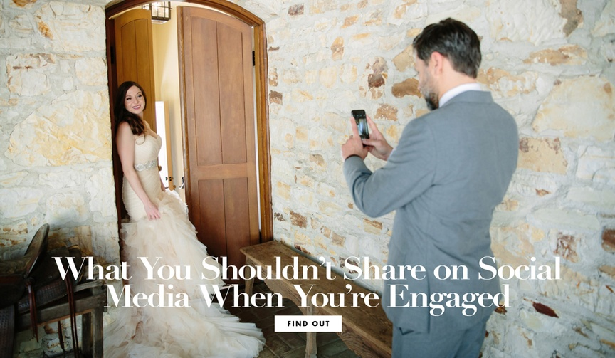 What not to share on social media when you are engaged