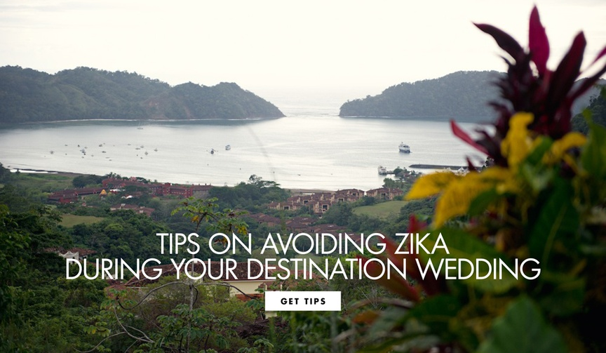 Tips on avoiding the Zika virus during your tropical wedding or honeymoon