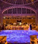 Extravagant reception at New York Public Library