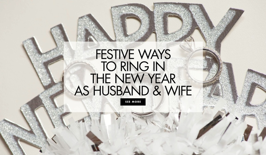 New year's eve wedding ideas festive ways to ring in the new year as husband and wife