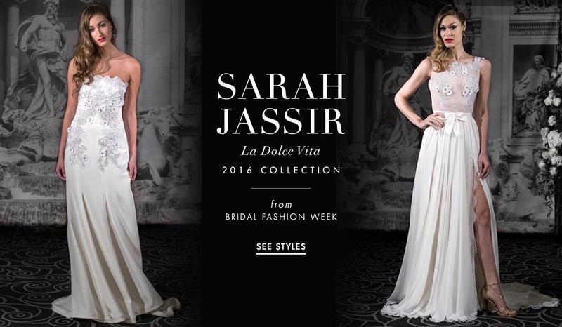 Sarah Jassir 2016 La Dolce Vita wedding dress collection