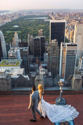 Landry Fields and Elaine Alden's 620 Loft & Garden wedding