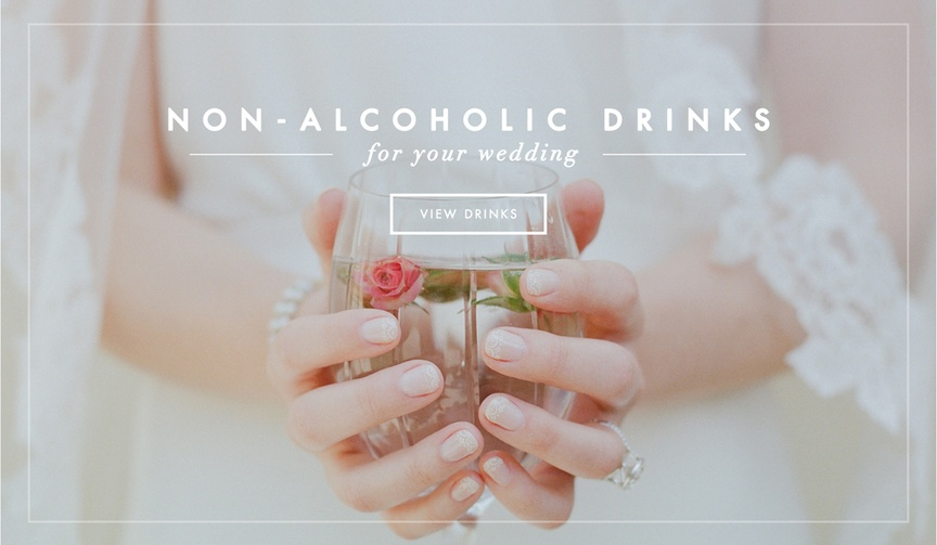 Non-Alcoholic Drinks for Your Wedding
