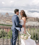 Florence italy wedding portrait tuscany countryside duomo cathedral italy destination wedding