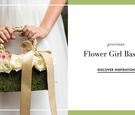 Flower girl basket and purse ideas for wedding ceremony