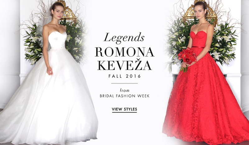 Wedding Dresses: Legends Romona Keveza Fall 2016 - Inside Weddings