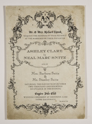 vintage wedding ideas antique wedding invite