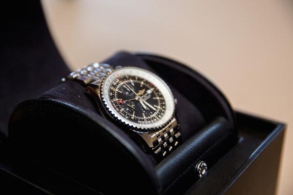 NFL quarterback Brock Osweiler's wedding gift watch