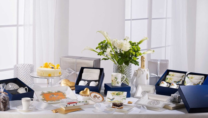 Villeroy & Boch Gifts assorted registry items in various colors for your kitchen