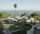 View of ocean from Montjoie in Santa Barbara