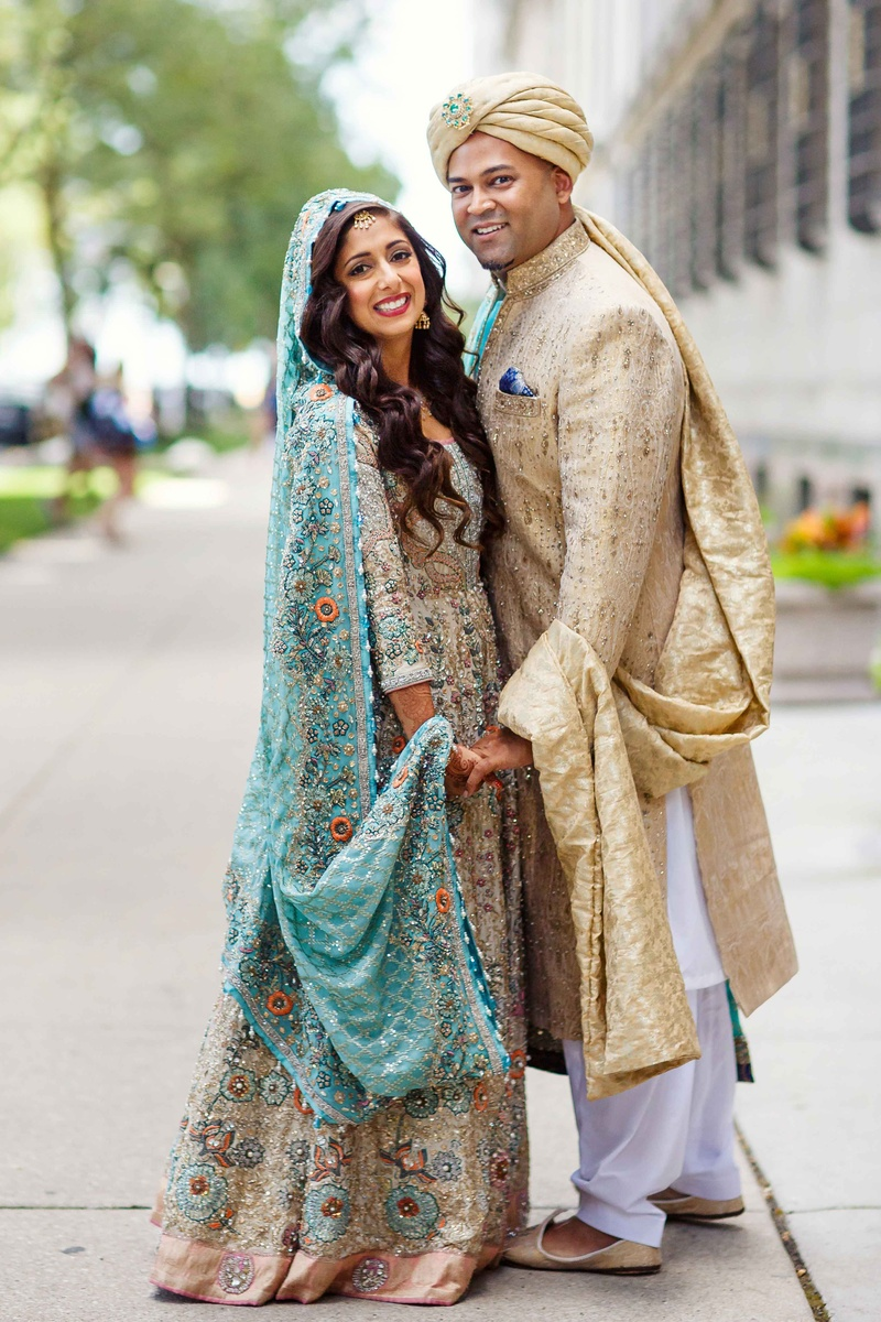 Multi-Day Pakistani Wedding Celebration Featuring Bright Colors