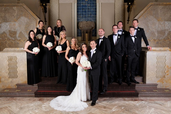 Sophisticated Jewish Ceremony + Luxe Ballroom Reception In