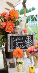 Seating Table Decor