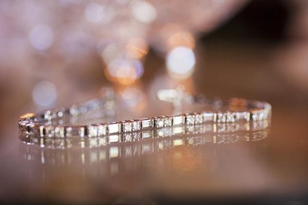 Wedding day jewelry bridal diamond bracelet