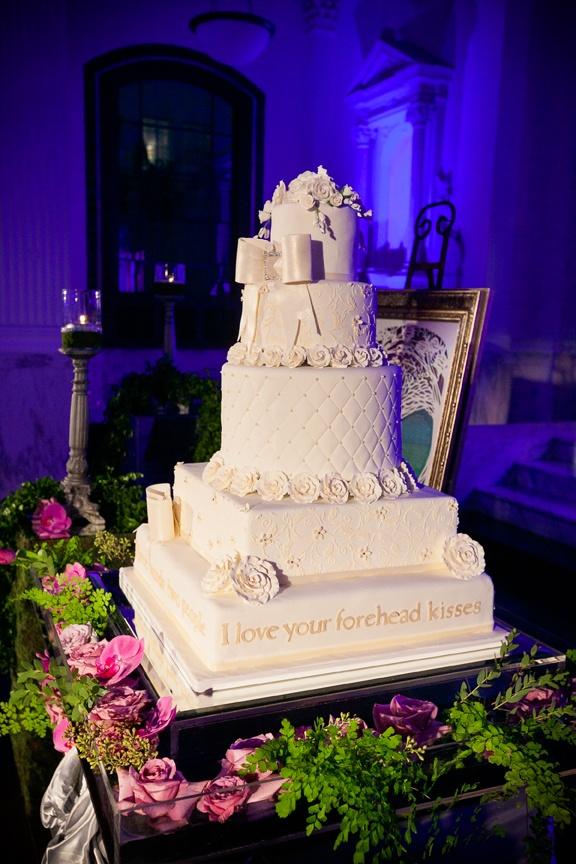 Cakes & Desserts Photos - White-Tufted Wedding Cake - Inside ...