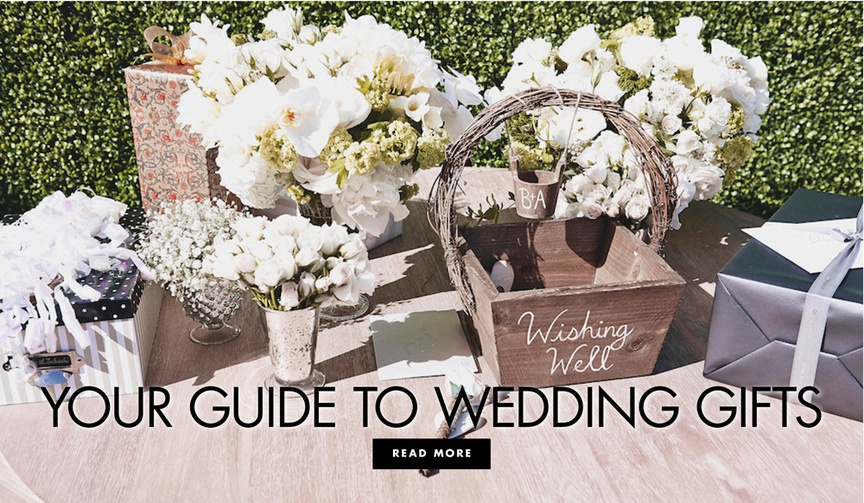 your guide to wedding gifts find out what to get for the happy couple
