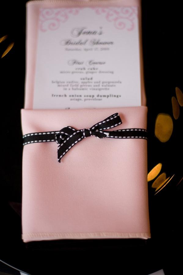Black White Pink Fashion Themed Bridal Shower Inside Weddings