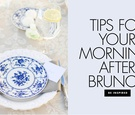 tips for a post-wedding brunch, morning-after brunch wedding weekend tips