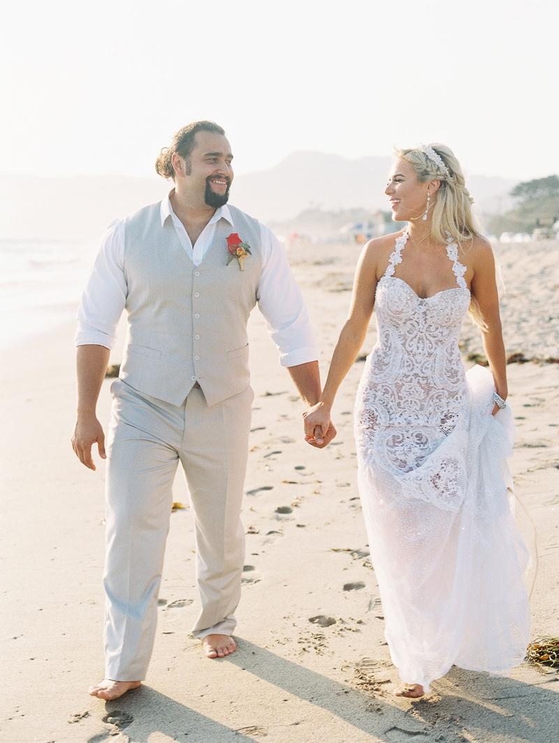 Total Divas Star Lana\'s Circus-Themed Beach Wedding in Malibu Photos ...