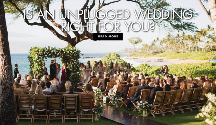 should you have an unplugged wedding? why not to have an unplugged wedding