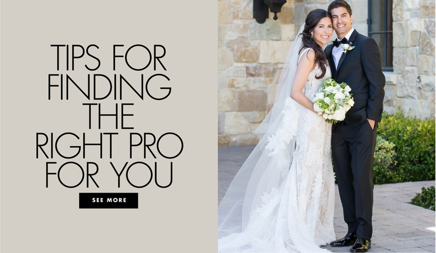 tips for finding the right pro for your wedding photographer ideas