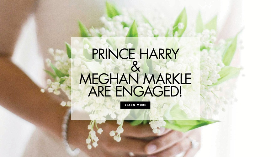 Royal wedding prince harry and meghan markle are engaged