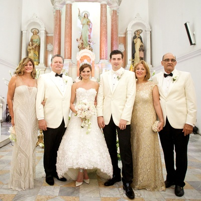 designer Francesca Miranda daughter Daniella Jassir wedding colombia parents families