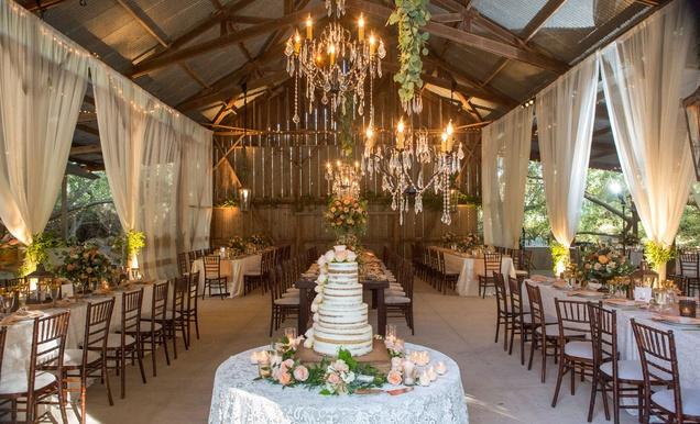 A Rustic Elegant Barn Wedding In Santa Barbara California