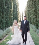 Model Stephanie Ming and NFL player Atlanta Falcons Super Bowl LI winner Levine Toilolo wedding