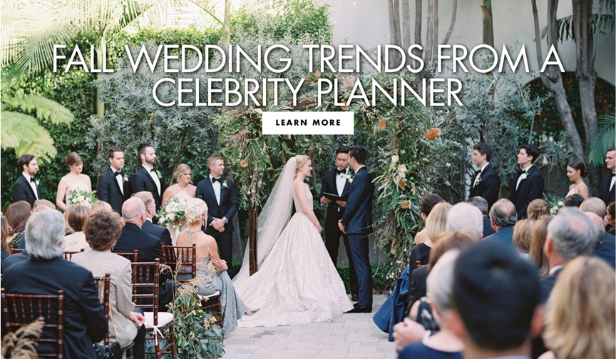 fall wedding trends and ideas from celebrity wedding and event planner mindy weiss