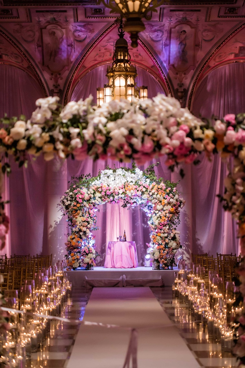 Image Gallery Light Flower Arch